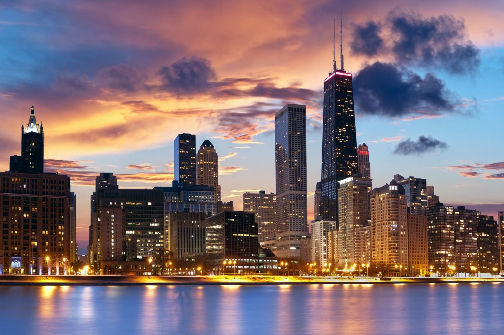 Chicago-Winter-Skyline