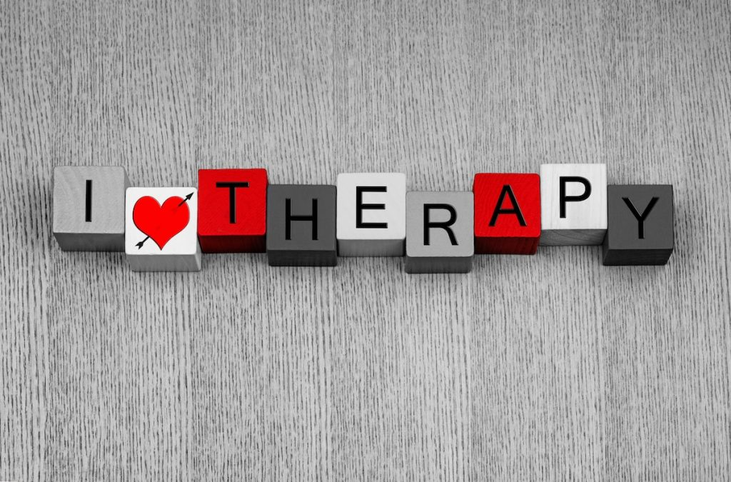 I Love Therapy - sign for therapists, psychology, psychiatry, mental health and sanity!
